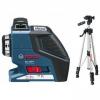 Лазерный нивелир GLL 2-80 P + штатив BS 150 BOSCH